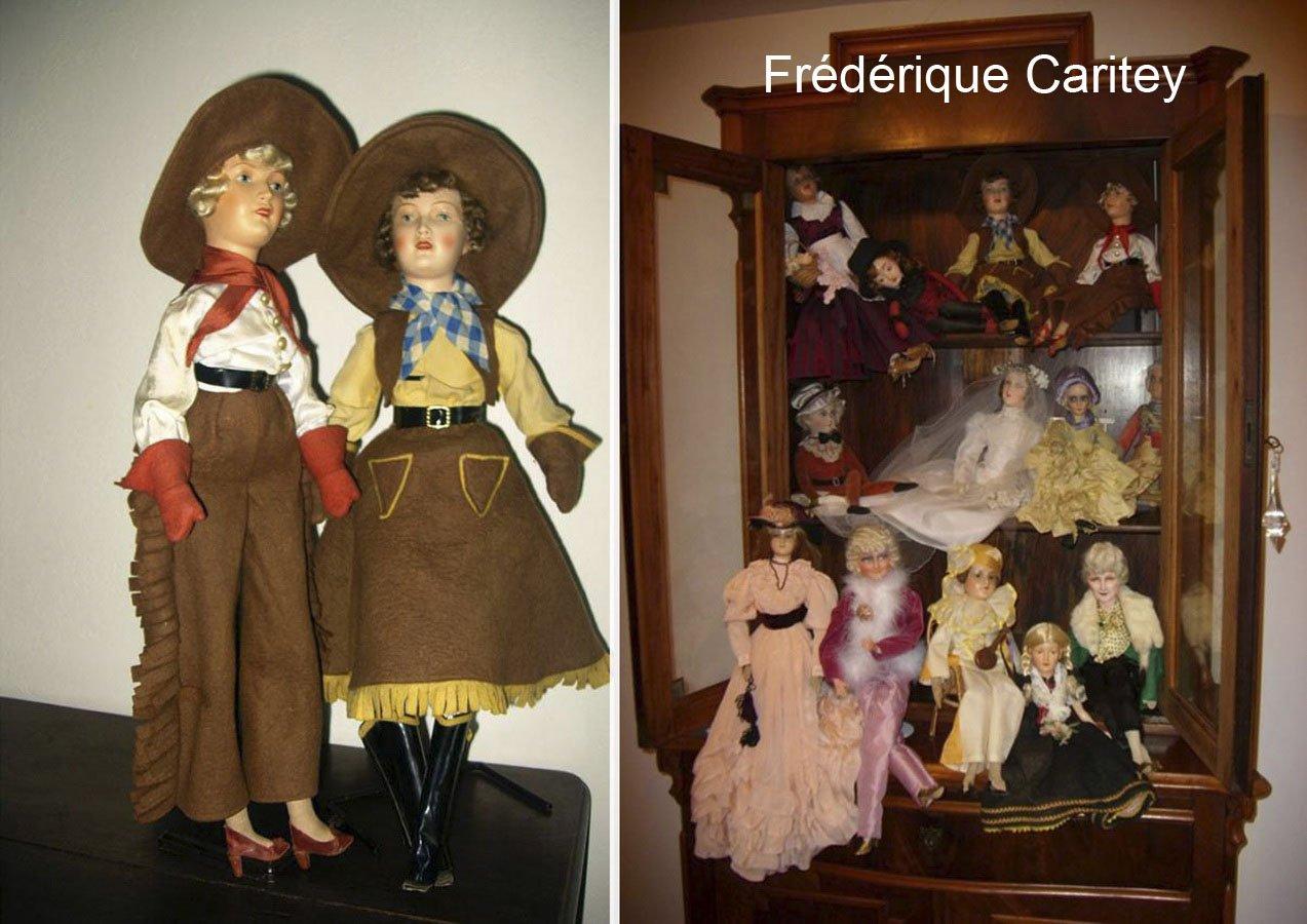 фотография немецких будуарных кукол