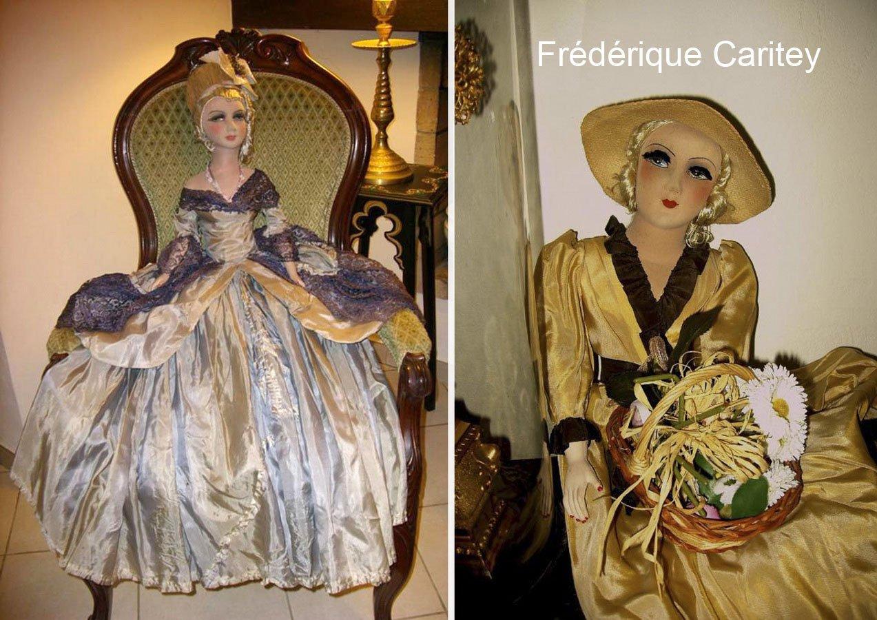 фотография будуарных кукол из коллекции Фредерики Керити