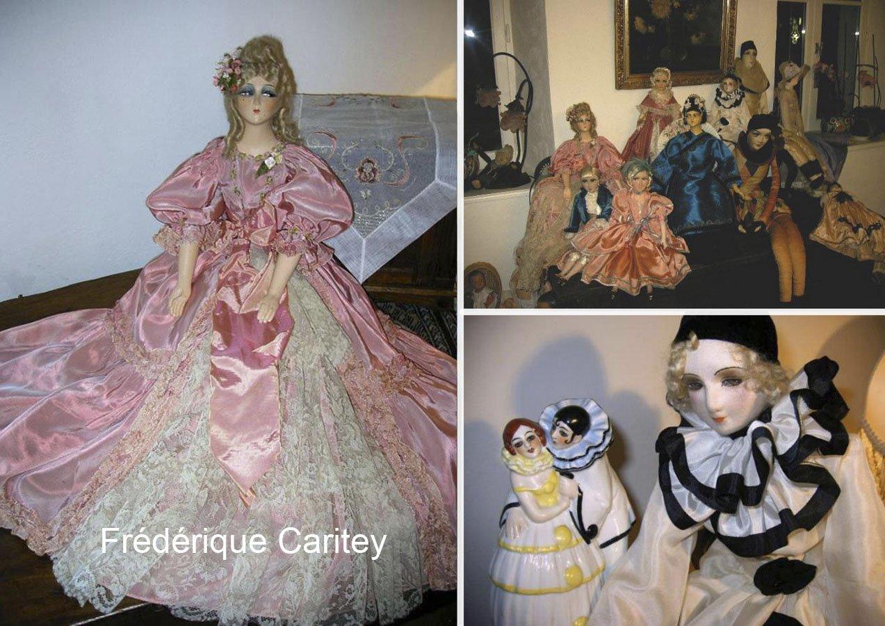 фотография красивых французских будуарных кукол