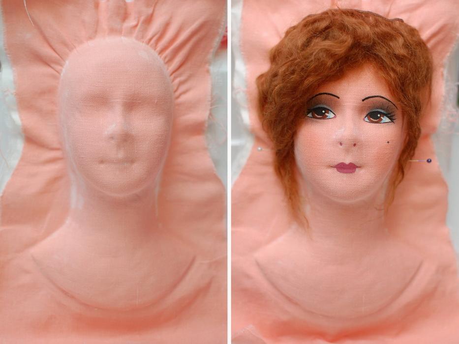 Технология изготовления лица