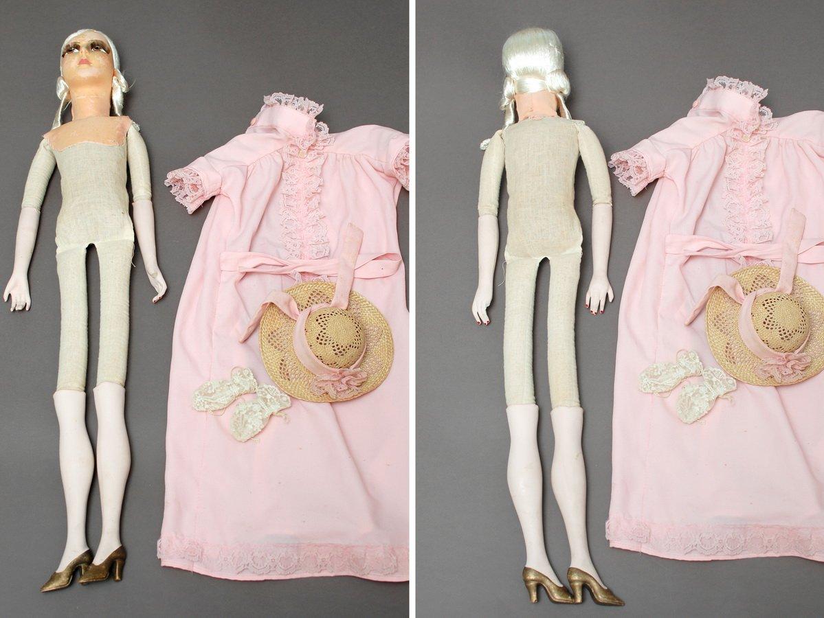 тело будуарной куклы